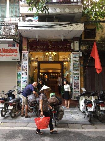 Hanoi Guest House: We maakten een fietsreis door o.a. Vietnam