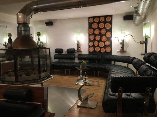 Saas-Almagell, Switzerland: Lounge