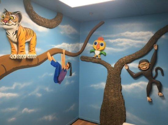 Newport News, VA: Tree Top Birthday Party Room