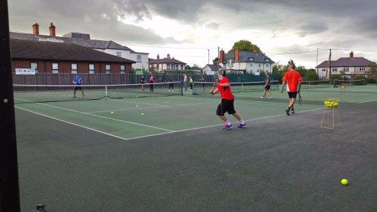 Denbigh, UK: Training Session