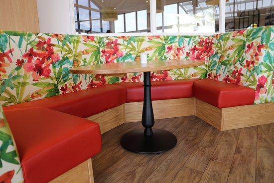 Shepperton, UK: Vibrant Benches