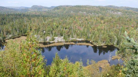 Shawinigan, كندا: Parcours Mekinac vue sur le lac Rosoy