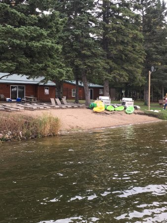 Park Rapids, MN: Beach area