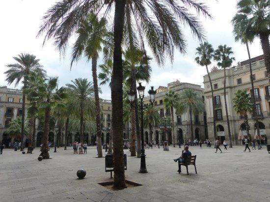 Ciutat Vella: Barcelona Plaça Reial