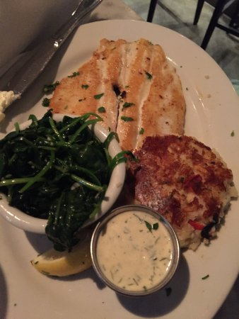 Lure Fish House: Idaho trout, delicious.