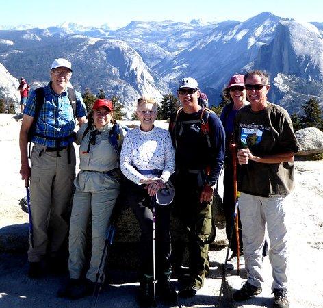Lafayette, CO: Timberline Yosemite hiking group at Sentinel Dome.