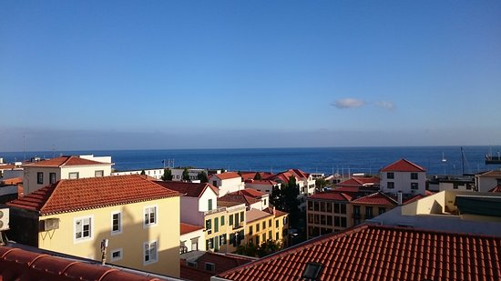 A view from roof bar picture of se boutique hotel for Design boutique hotel funchal