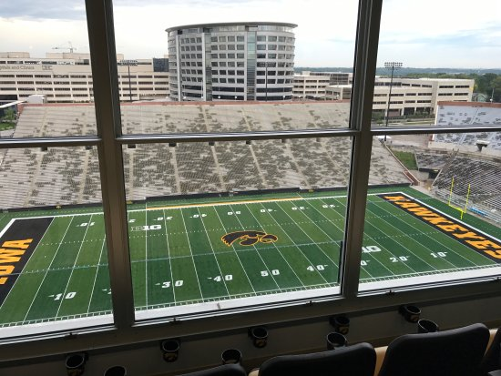 Iowa City, IA: View from the suites