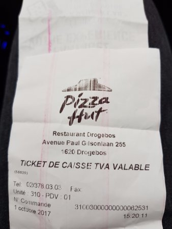 Pizza Hut: adresse d