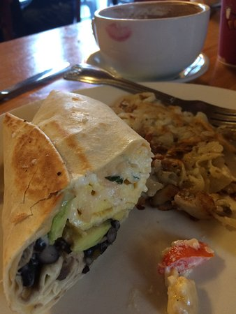 Bristol, Род Айленд: Breakfast burrito