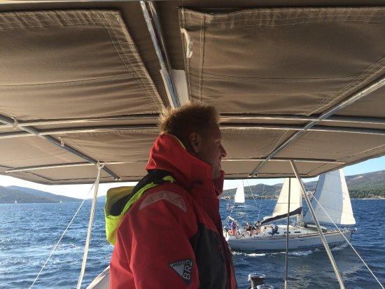 Viganj, Croacia: Captain Wonderful....Davor