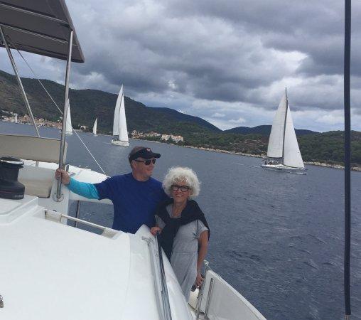 Viganj, Chorwacja: Under Sail