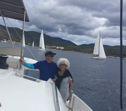 Viganj, Croacia: Under Sail