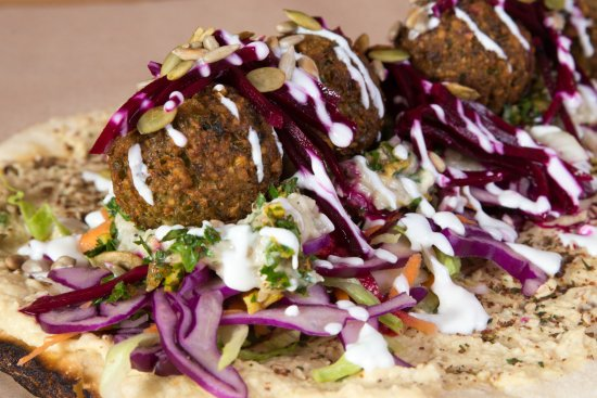 Weiden, Germany: Vegane Option mit Falafel