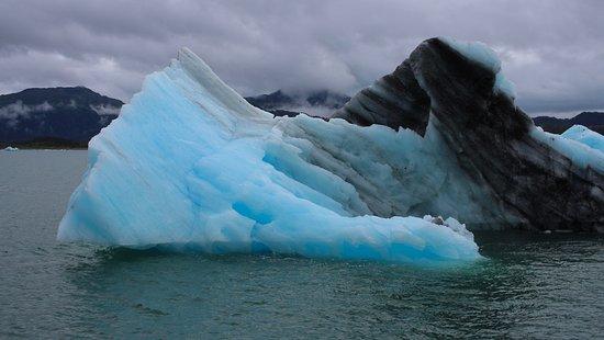 """""""Eisberge"""" auf dem Weg von Valdez zum Columbia Glacier"""