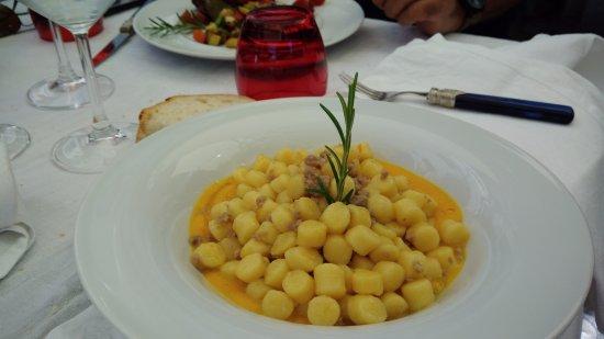 Coazzolo, Italia: Gnocchi