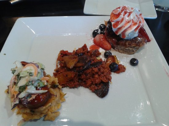 Fort Wayne, IN: All this at just one of the 5 stops!! The chefs prepared special treats for just for us!