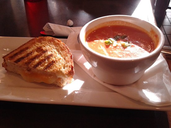 Fort Wayne, IN: We enjoyed a Gourmet Grilled cheese and tomato bisque soup at another stop.