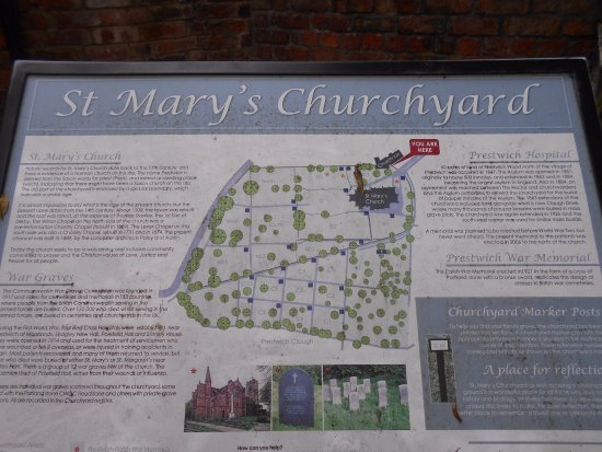 ‪‪St Mary's Church‬: plan du site‬