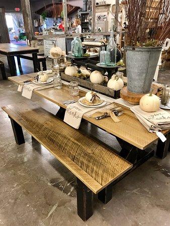 Mill 77 Trading Company: Custom Built Farm Table