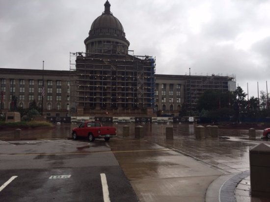 State Capitol : Entrance on this side