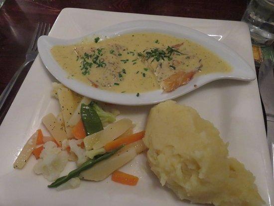 Kinross, UK: The Balgedie Smokie - Poached Smoked Haddock