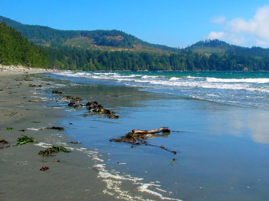 Sooke, แคนาดา: French Beach Provincial Park