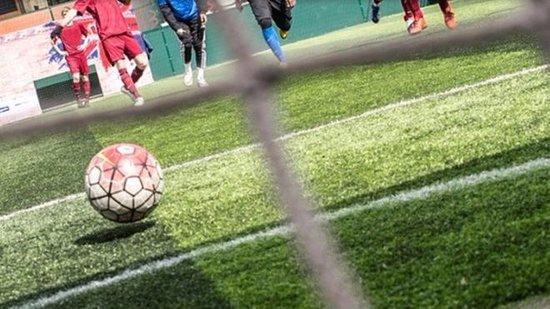 Leighton Buzzard, UK: Football Fitness Fun