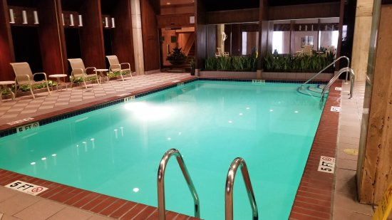 Nice indoor pool picture of doubletree by hilton Indoor swimming pools in philadelphia