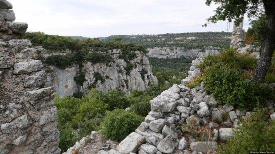 Luberon, Frankrike: vue depuis le fort