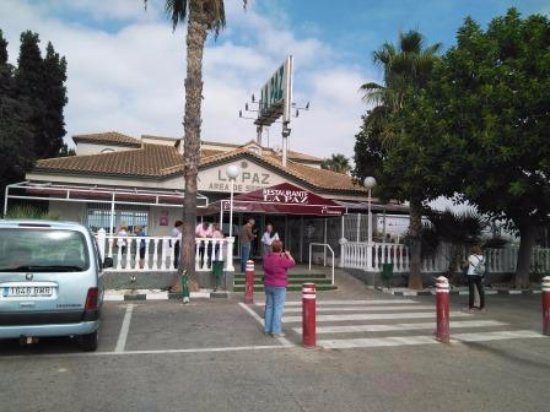 Sangonera La Seca, Spagna: Entrada restaurante
