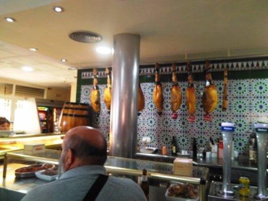 Sangonera La Seca, Spagna: Interior restaurante