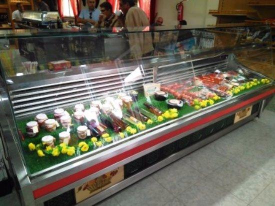 Sangonera La Seca, Spagna: Mostrador de comida