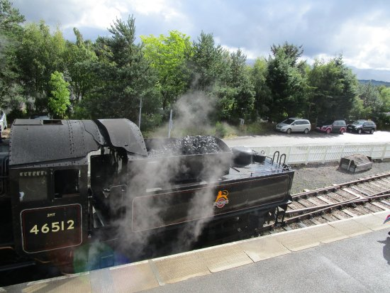 Aviemore, UK: Steam Engine