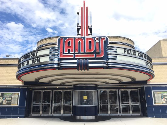Vineland, NJ: Renovated Landis Theater Marquee