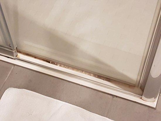 moisissure porte de la douche salle de bain picture. Black Bedroom Furniture Sets. Home Design Ideas