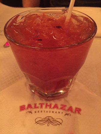Cocktail at Balthazar