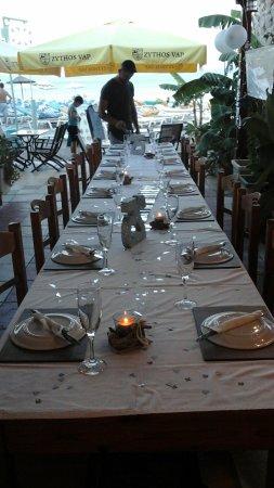 The sunburnt arms kos stadt restaurant bewertungen for Wedding anniversary trip ideas