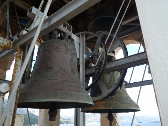 Korcula Town, Kroasia: They have real bells