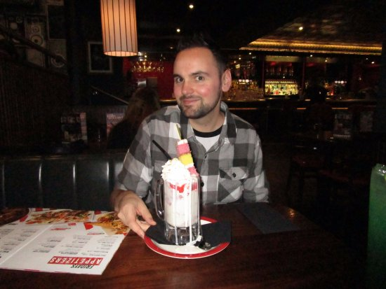 Me With The Birthday Cake Shake