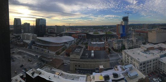 Renaissance Nashville Hotel: Panoramic view from room