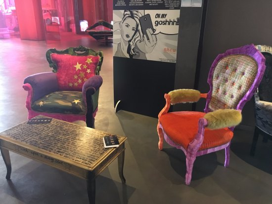 More funky chairs - Picture of nhow Milano, Milan - TripAdvisor
