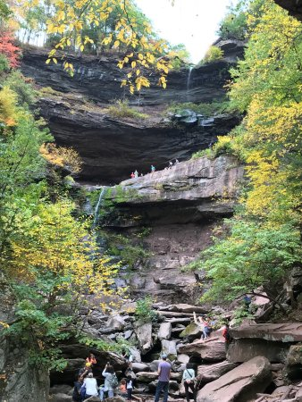 Haines Falls, NY: Kaaterskill Falls and Inspiration Point views