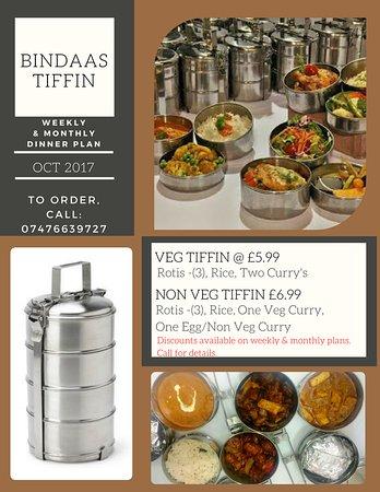 Feltham, UK: Bindaas Tiffin Service