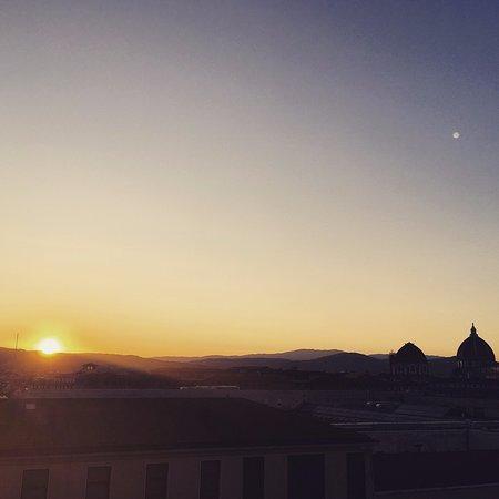 Delle Nazioni Hotel : Sunrise from Balcony