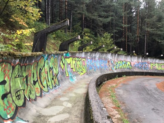 Sarajevo Funky Tours: 1984 Bobsleigh and Luge track