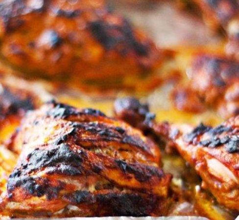 Spice Zone Indian Takeaway: Half Tandoori Chicken Main