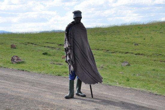Semonkong, Lesotho: nedaleký ,,strážce,,