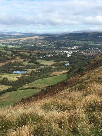 Aberdare, UK: From the top.