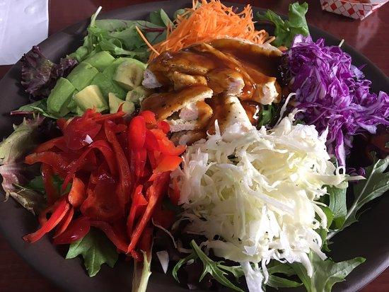 Round Rock, TX: Garden with Teriyaki Chicken
